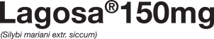 Lagosa 150mg logo - lek na wątrobę